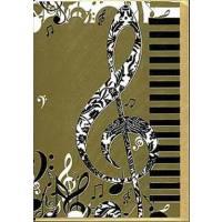Doppelkarte Violinschlüssel