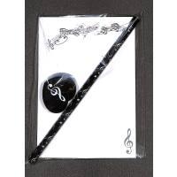 Notizblock Violinschlüssel Variante B