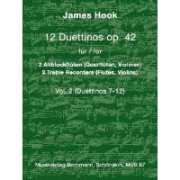 12 Duettinos op 42/2 (Nr 7-12)