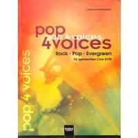 Pop 4 Voices - Rock Pop Evergreens
