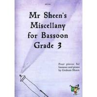 Mr Sheen's miscellany for bassoon 3