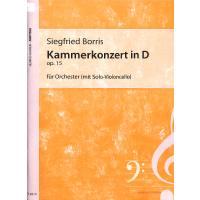 Kammerkonzert D-Dur op 15