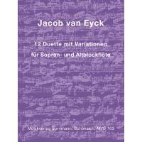 12 Duette mit Variationen