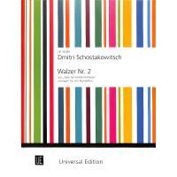 Second Waltz (Walzer 2) aus Suite 2 für Jazz Orchester