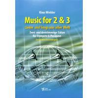Music for 2 + 3 | Lieder und Songs aus aller Welt