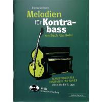 Melodien fuer Kontrabass von Bach bis Holst