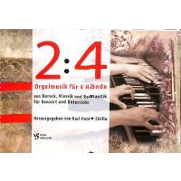 2 : 4 Orgelmusik für 4 Hände