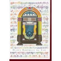 Doppelkarte Happy Birthday   MUSIC BOX