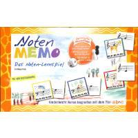 Noten Memo - ein Noten Lernspiel