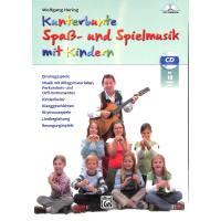 Kunterbunte Spaß und Spielmusik mit Kindern