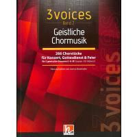 3 voices 2 | Geistliche Chormusik