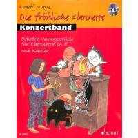 Die fröhliche Klarinette 1 | Die fröhliche Klarinette 2 | Konzertband