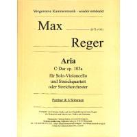 Aria C-Dur op 103a