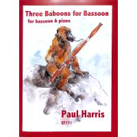 3 baboons for bassoon