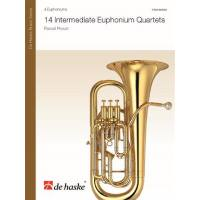 14 intermediate Euphonium Quartets