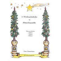 11 Weihnachtslieder Für Flöten Ensemble