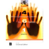 4 Afro caribbean pieces for 6 hands at 1 piano