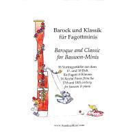 Barock und Klassik für Fagottminis