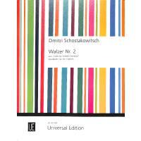 Walzer 2 | Second Waltz (Walzer 2) aus Suite 2 für Jazz Orchester