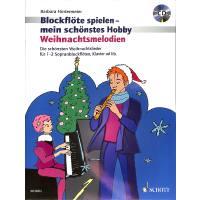 Weihnachtsmelodien | Blockflöte spielen mein schönstes Hobby 1