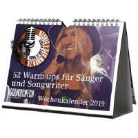 Vocal Wochenkalender 2019 | 52 Warm ups für Sänger und Songwriter