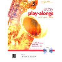 Easy play alongs for Saxophone