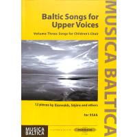 Baltic Songs for Upper Voices 3