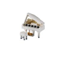 Brixies Klavier (Flügel) | Steckbausteine | Nanoblock Grand Piano (Klavier)
