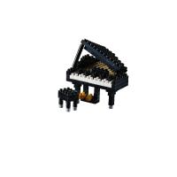 Brixies Klavier (Flügel) | Nanoblock Grand Piano (Klavier) | Steckbausteine