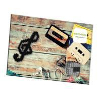 Brixies Violinschlüssel mit Postkarte | Steckbausteine
