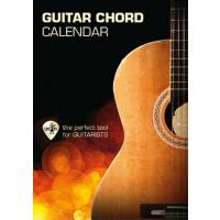Guitar chord calendar