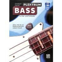 Plektrum Bass für Vier und Fünfsaiter
