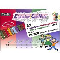 Einfacher geht nicht   32 Kinderlieder Weihnachtslieder Hits + Evergreens in C-Dur