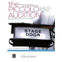The piccolo + alto flute audition