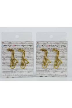 Büroklammern Saxophon