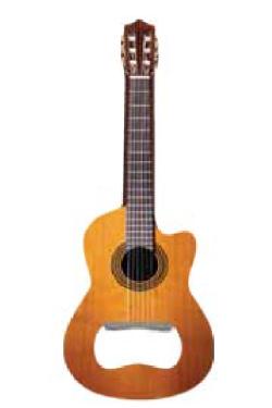 Flaschenöffner Konzertgitarre