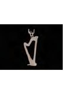 Schmuckanhänger Harfe