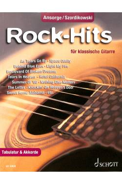 Rock Hits für klassische Gitarre