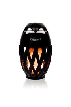 Bluetooth Lautsprecher mit LED Flammeneffekt Beatfoxx FA-50