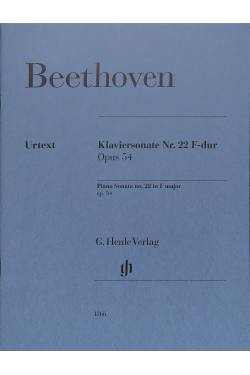 Sonate 22 F-Dur op 54