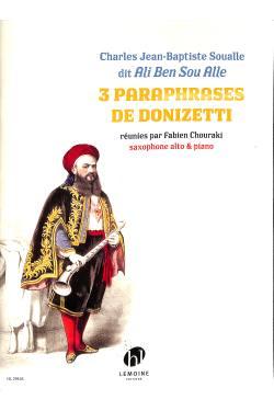 3 Paraphrases de Donizetti
