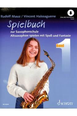 Saxophonschule 1 - Spielheft
