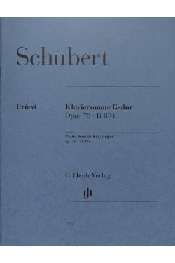 Sonate G-Dur op 78 D 894