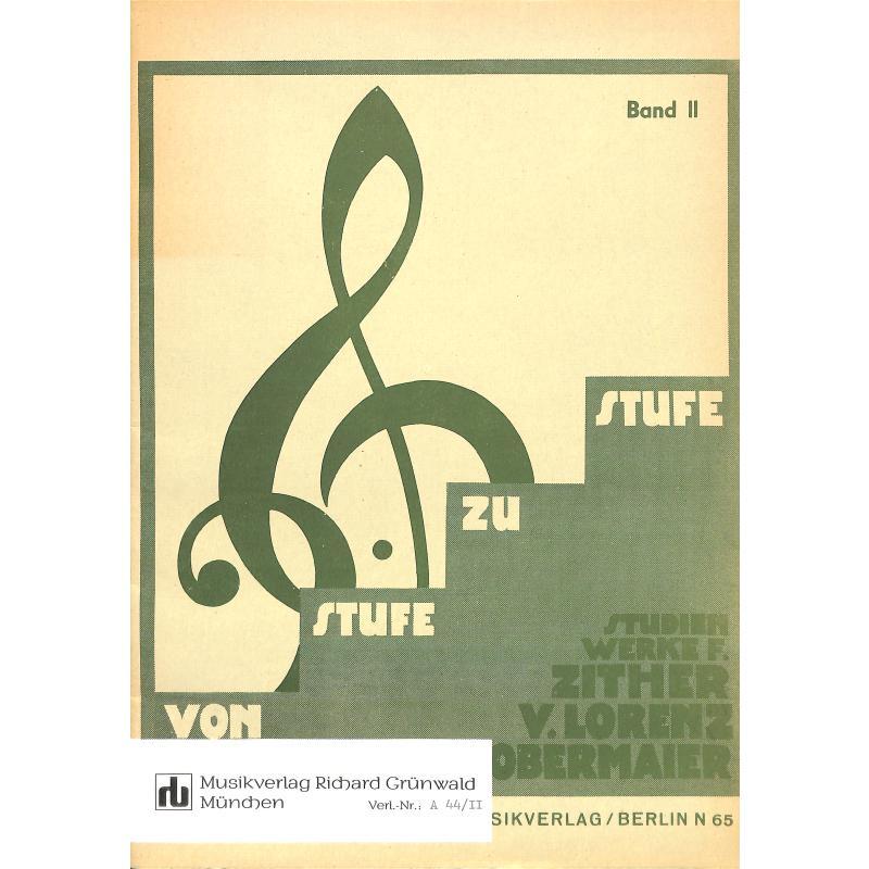 Titelbild für GRUEN -A44-2 - VON STUFE ZU STUFE 2