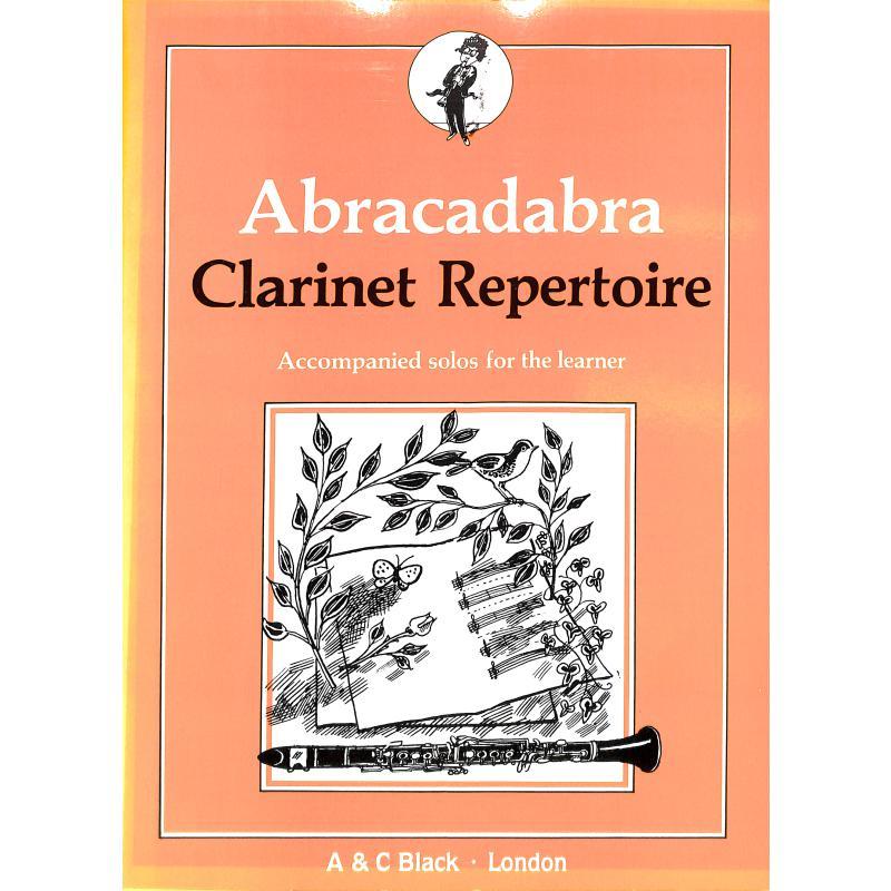 Titelbild für AB 3332 - ABRACADABRA CLARINET REPERTOIRE