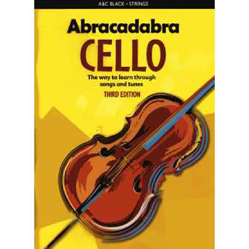 Titelbild für 978-1-4081-1463-6 - Abracadabra cello