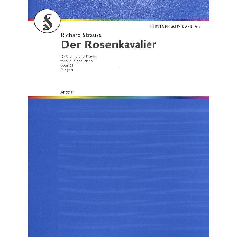 Titelbild für AF 5917 - WALZERFOLGE AUS DEM ROSENKAVALIER