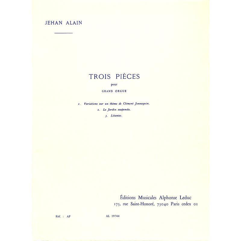 Titelbild für AL 19744 - 3 PIECES