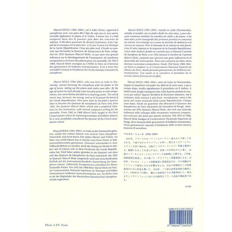 Notenbild für AL 20455 - 24 ETUDES FACILE