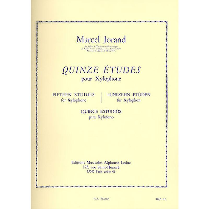 Titelbild für AL 25242 - 15 ETUDES
